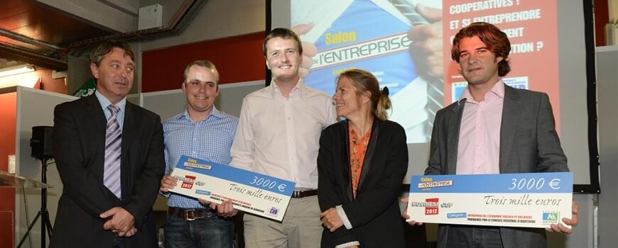 Archenergie : vainqueur de la business cup du salon de l'entreprise Aquitaine 2012