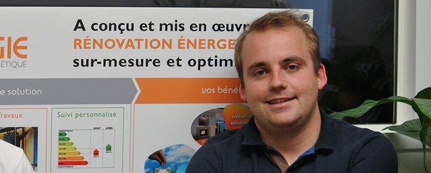 François-Maxime FUCHS présente Archenergie à la radio : (re) découvrez l'interview
