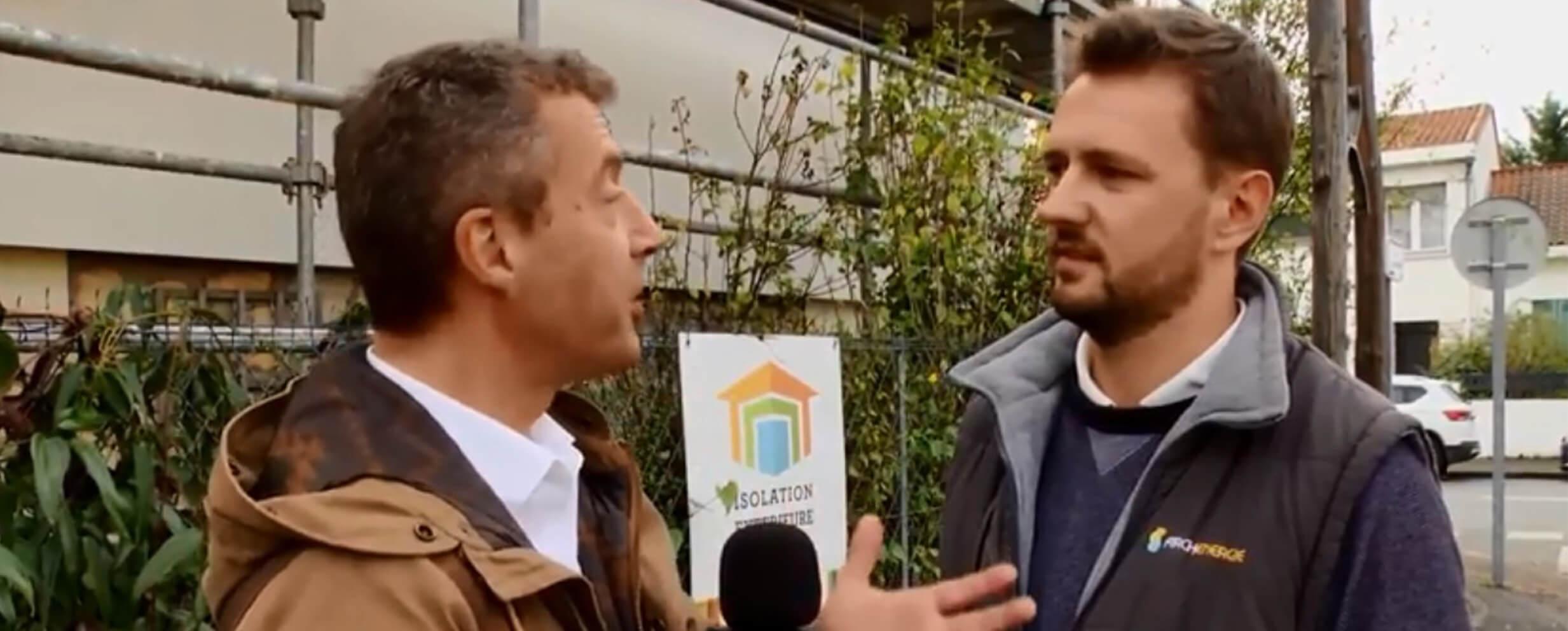 Pour le lancement de Ma Rénov Bordeaux Métropole, Archenergie présente un projet à TV7