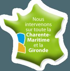 Archenergie intervient sur toute la Charente-Maritime et la Gironde