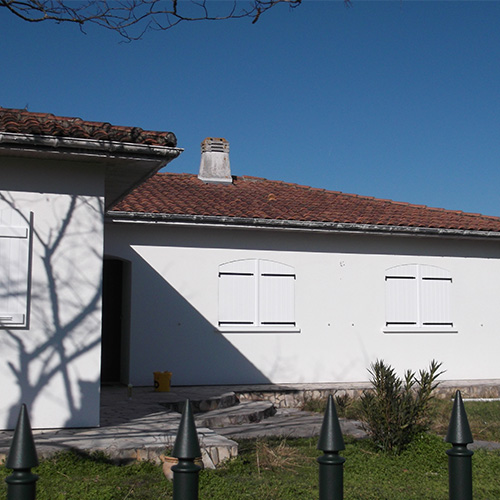 maison merignac gironde 33 après travaux d'isolation extérieure I.T.E