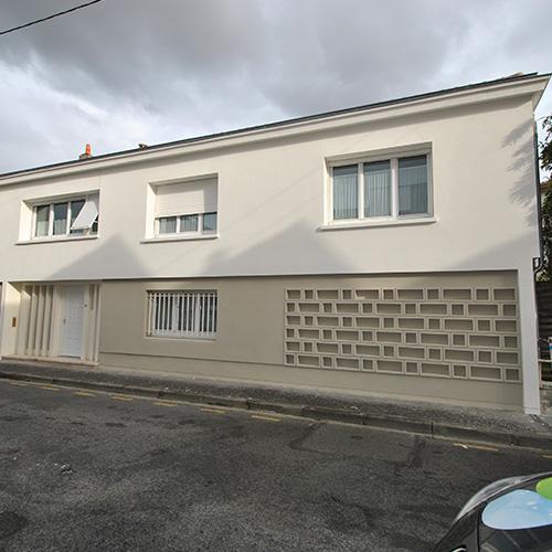 maison bordeaux gironde 33 après isolation par l'extérieur I.T.E