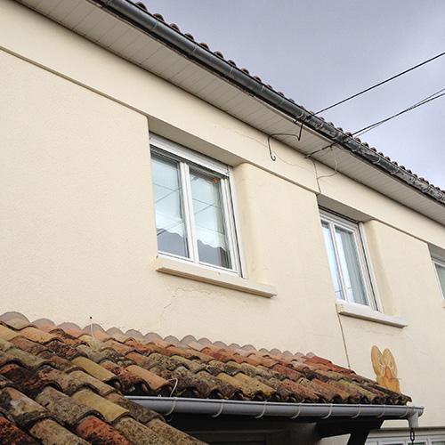 maison merignac 33 avant isolation thermique par l'extérieur