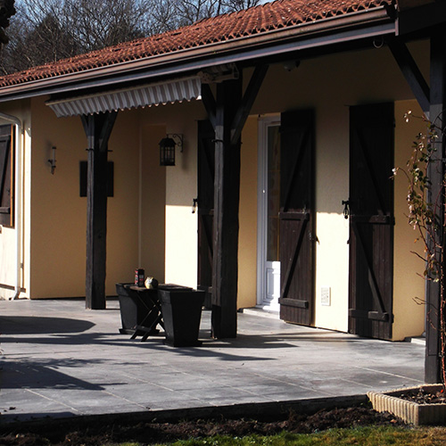 Maison Saint Médard en Jalles (33) avant isolation thermique par l'extérieur