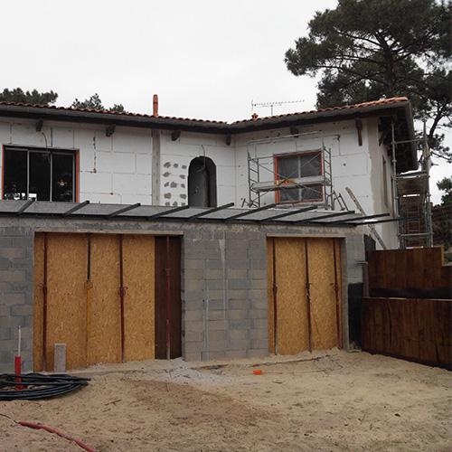 Villa Cap Ferret en cours de rénovation