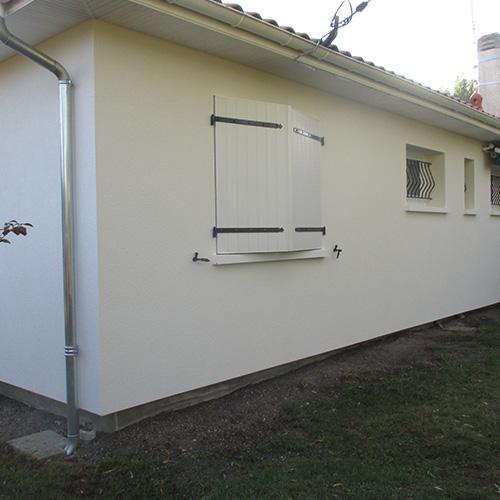 Maison Villenave d'Ornon (33) après isolation extérieure