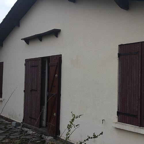 Façade maison Cestas (33) avant rénovation
