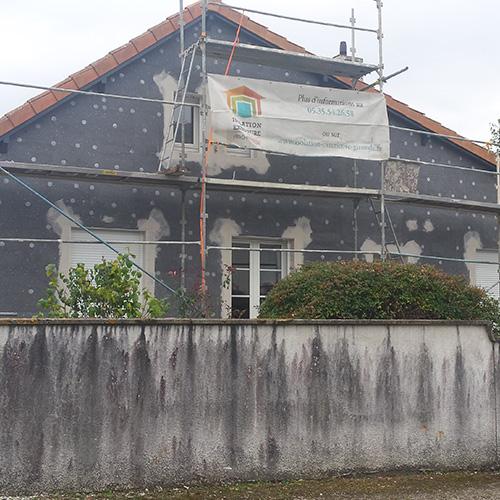 Travaux de rénovation en cours - Pessac (33)
