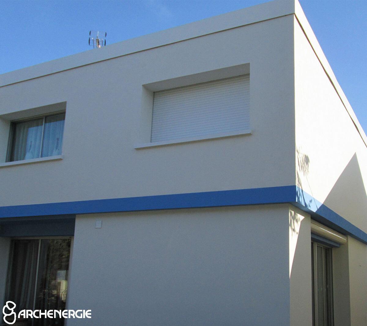 recréation esthétique façade modénatures colombages