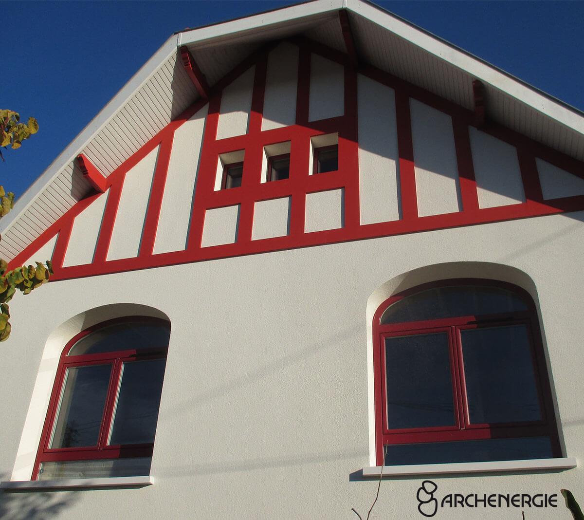architecte bâtiment de France isolation façade recréation esthétisme