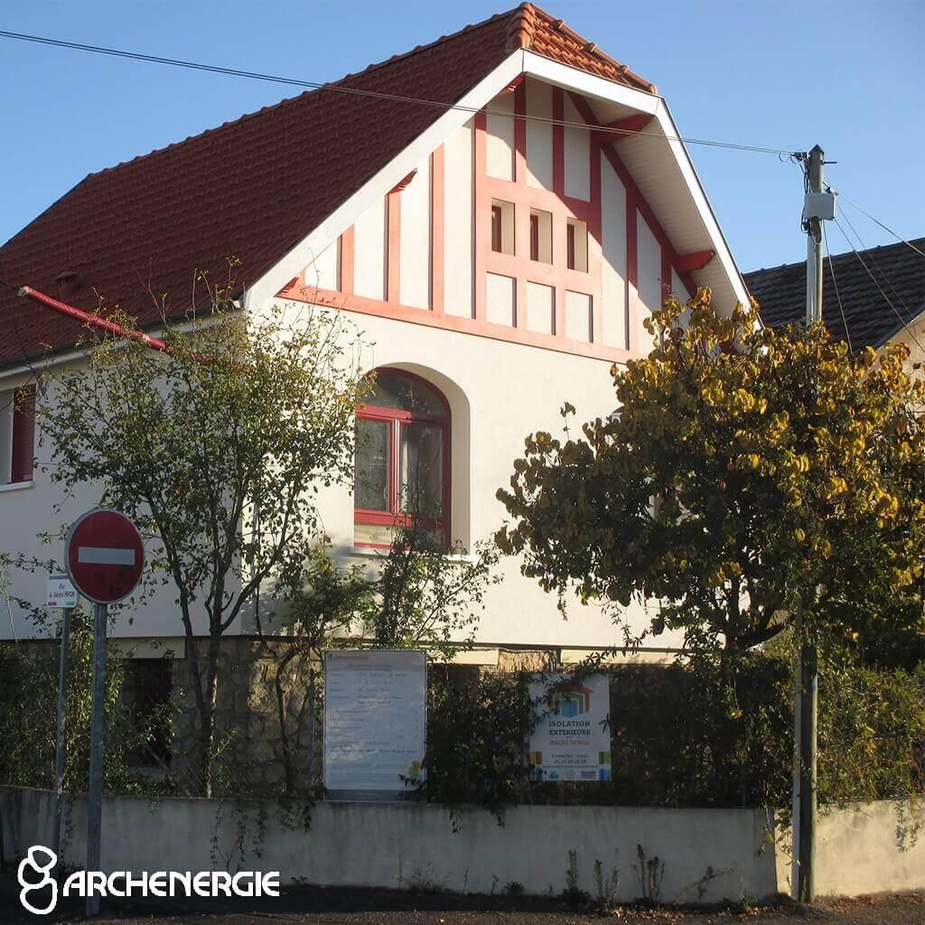 Esthétique de la maison basque conservée après isolation extérieure de la façade à Talence (33)