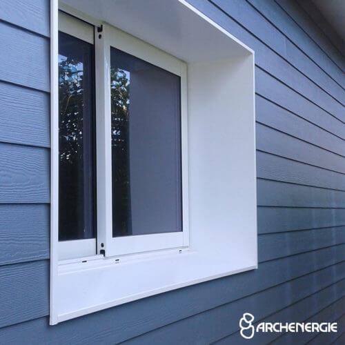isolation thermique murs extérieur finition bardage bois matériaux composites vêture