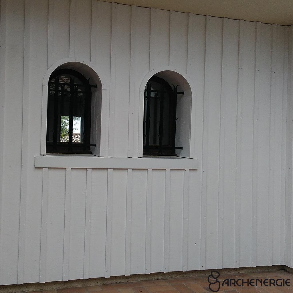Exemple De Bardage Exterieur isolation thermique extérieure et bardage par archenergie
