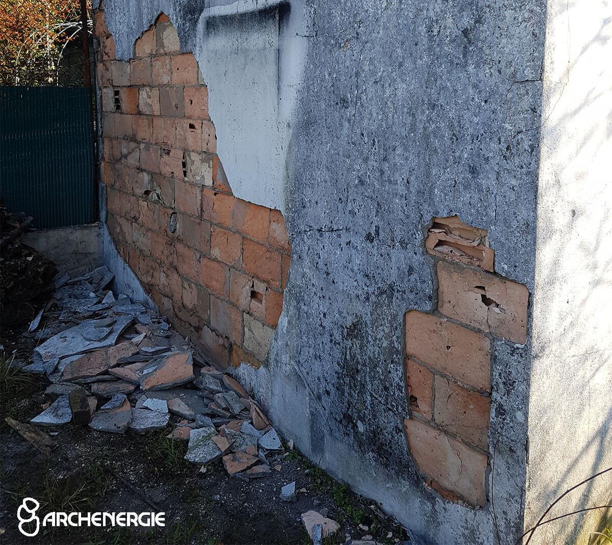 protection murs bâti gros oeuvre variations températures risque fissures éclatement infiltration