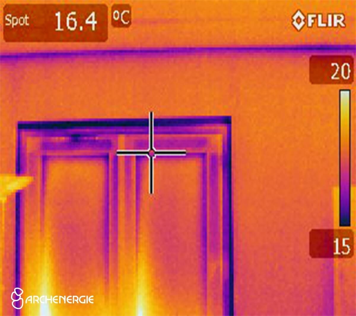 Caméra thermique - récolte de données qualitatives et quantitatives en s'appuyant sur des moyens techniques