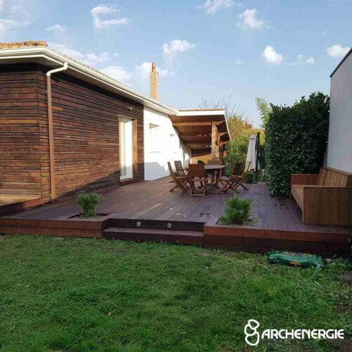 travaux annexes volets terrasse