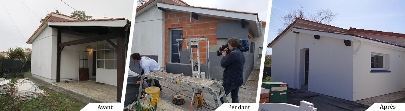 Nos ITEistes en pleine action pour France 2 à Villenave d'Ornon