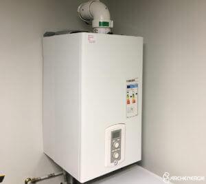 chaudière condensation gaz