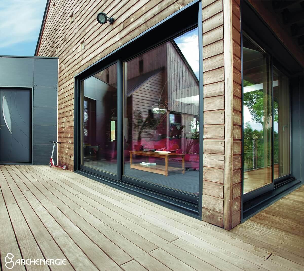 fenêtres mixtes bois alu