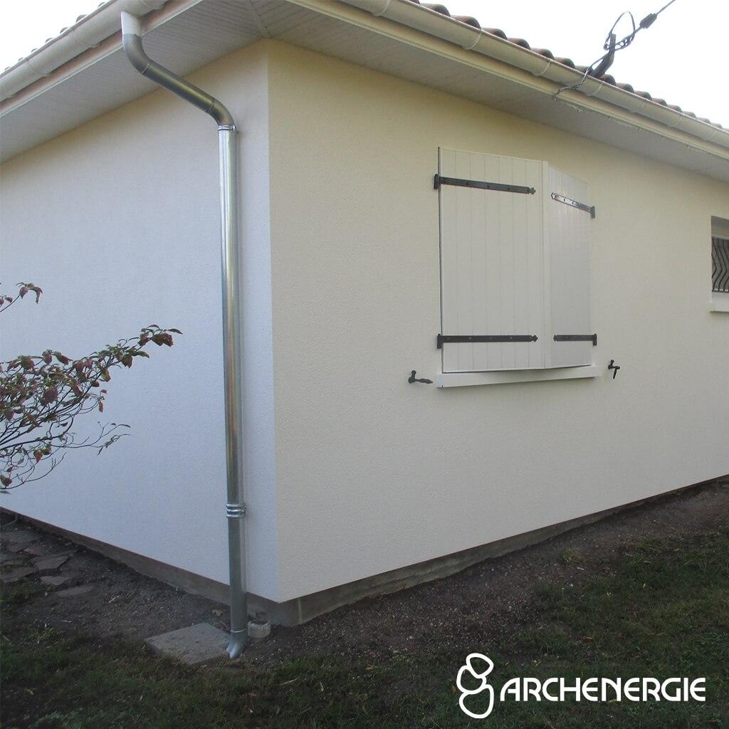 Isolation extérieure à Villenave d'Ornon - Après travaux