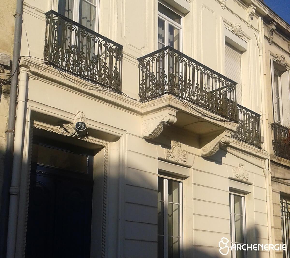 Une rénovation énergétique en plein centre de Bordeaux