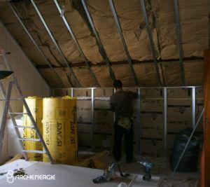 Isolation thermique des murs par l'intérieur (ITI) - Archenergie