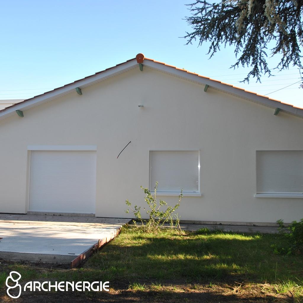 Maison après Isolation thermique et phonique en bord de rocade à Talence