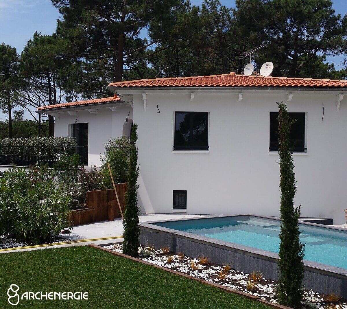 Rénovation thermique globale au Cap Ferret - Après travaux