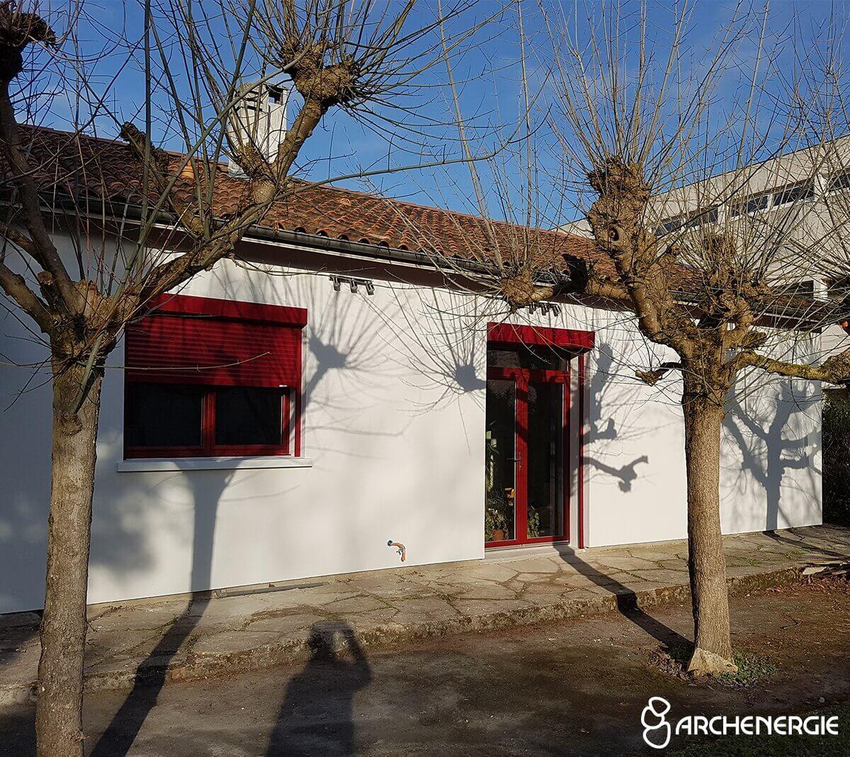 Une maison des années 60 plus confortable et performante à Gradignan - après rénovation