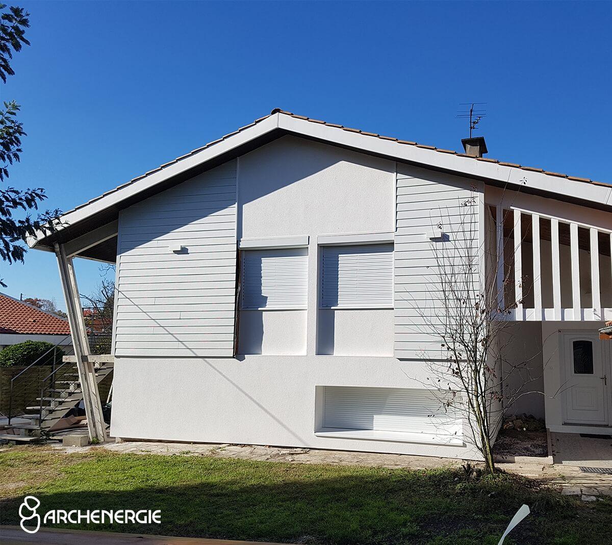 Une nouvelle enveloppe pour cette maison de Mérignac - Après rénovation
