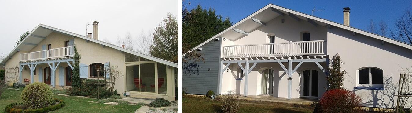 Une rénovation complète pour une nouvelle vie sur la côte Atlantique avant et après travaux