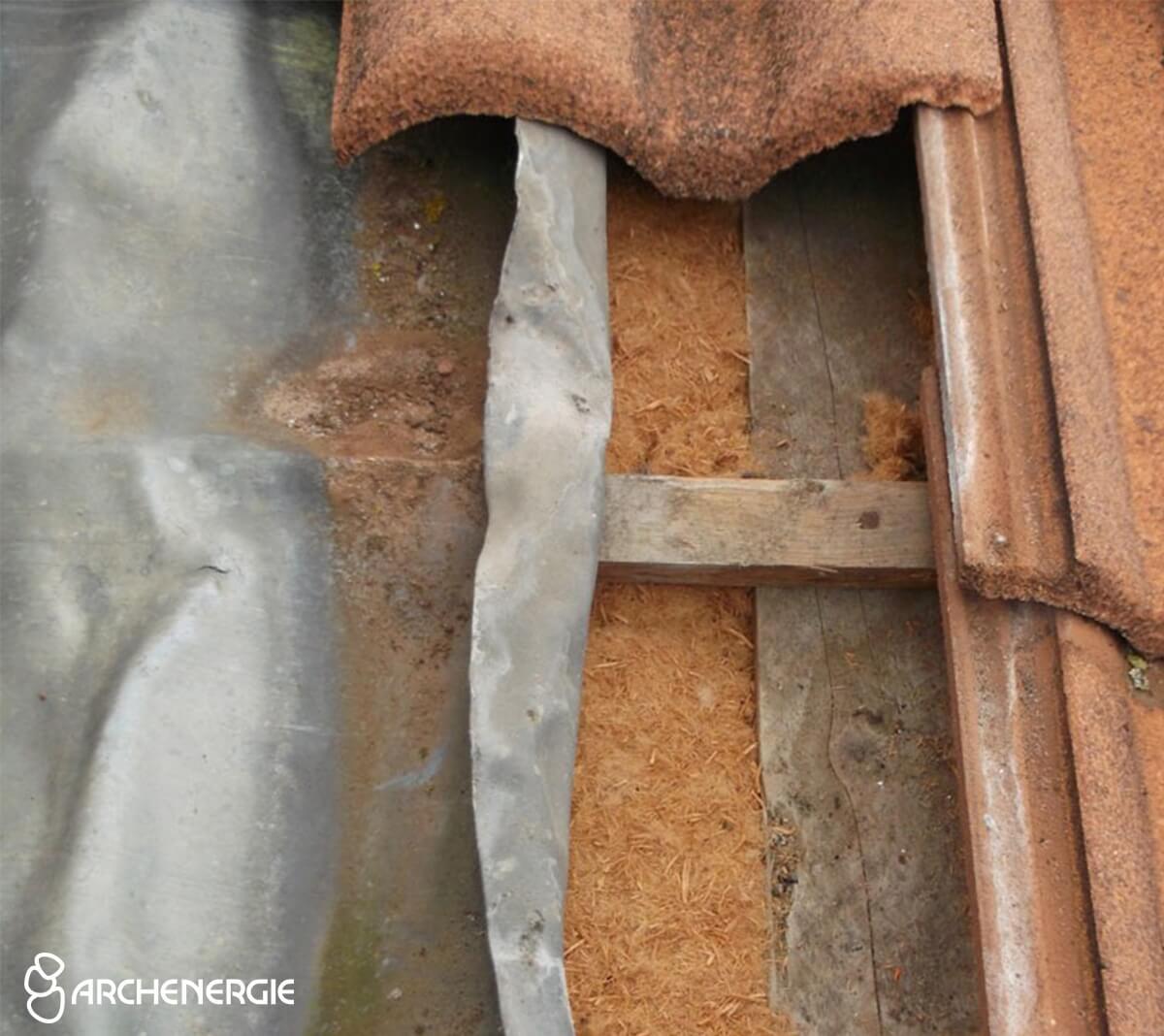 Isolation des rampants par l'extérieur - Fibre de bois - Ambarès