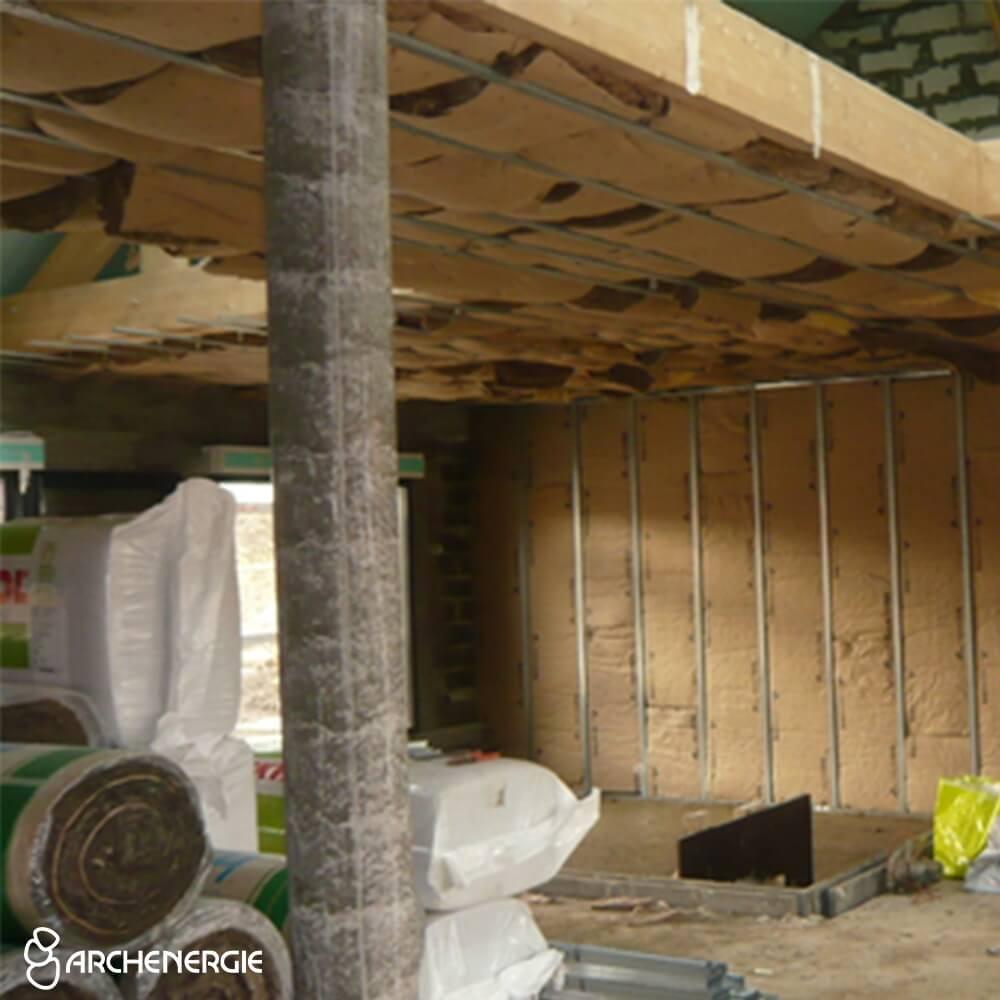 chantier sans impact intérieur