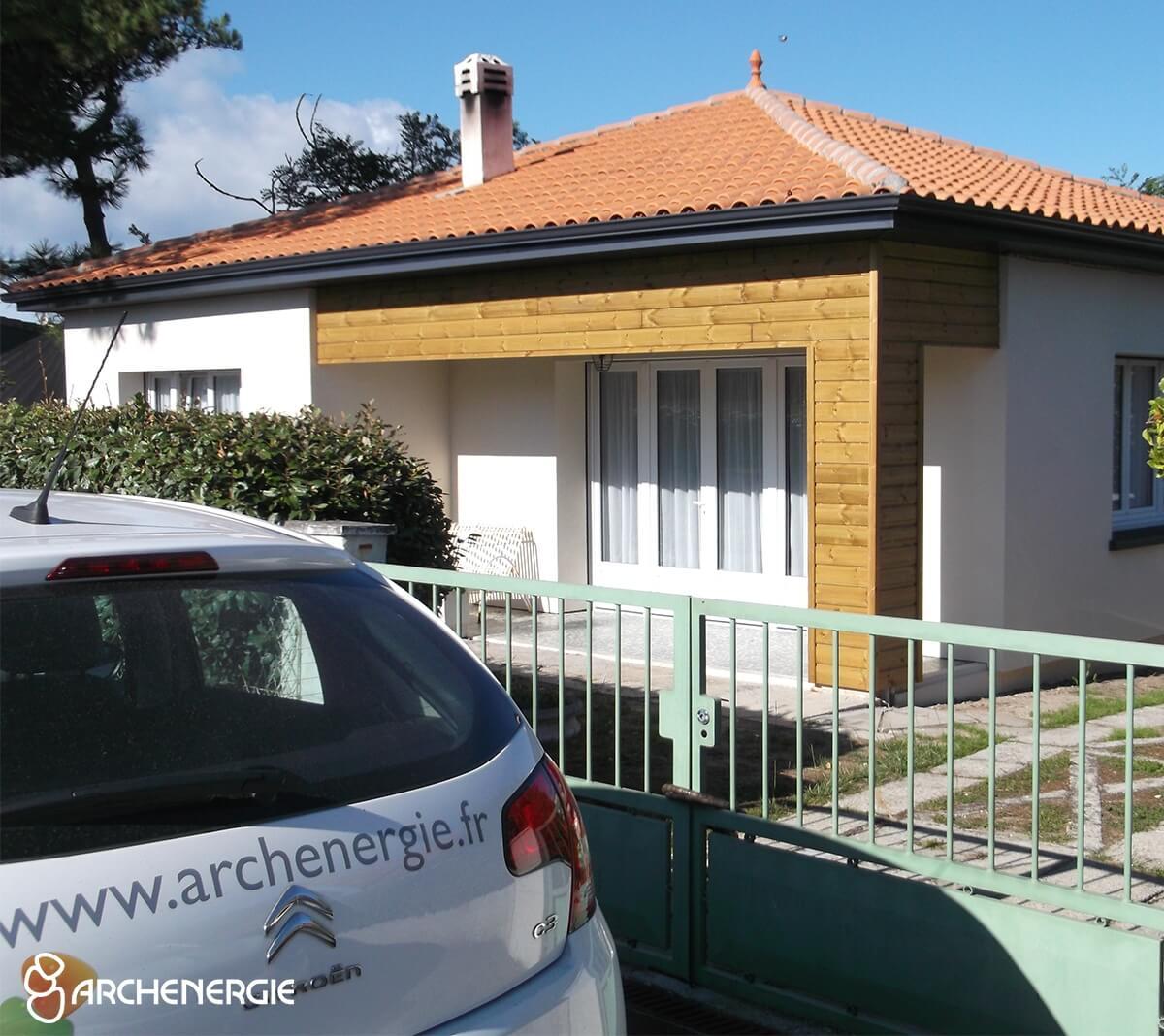 maison Carcans Océan gironde 33 apres rénovation archenergie