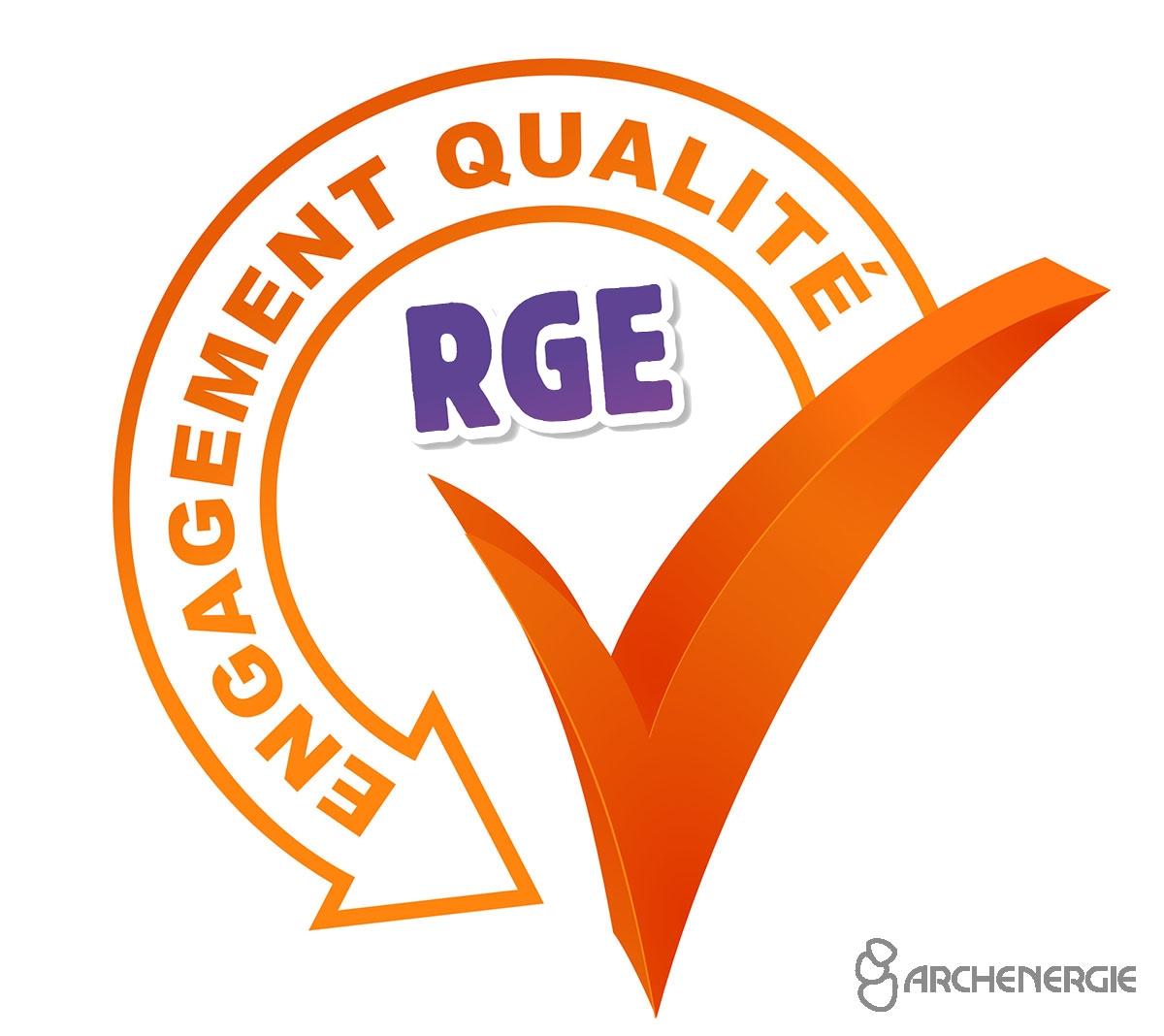 Qualité RGE - Archenergie