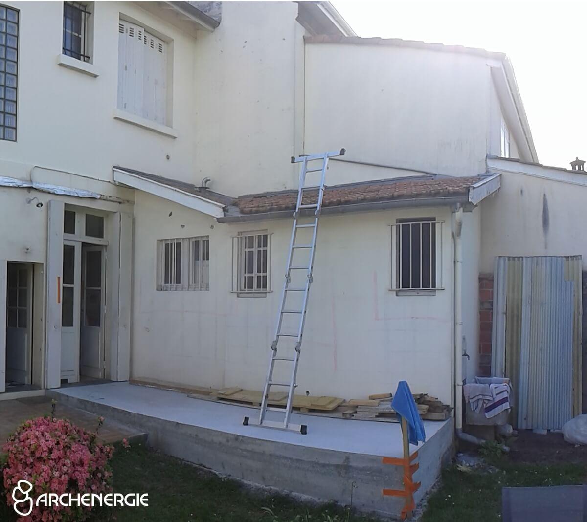 Extension en Gironde - Contraintes techniques de votre projet
