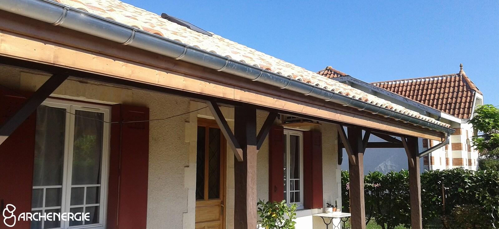 Isolation toiture en sarking – Cestas - Gironde