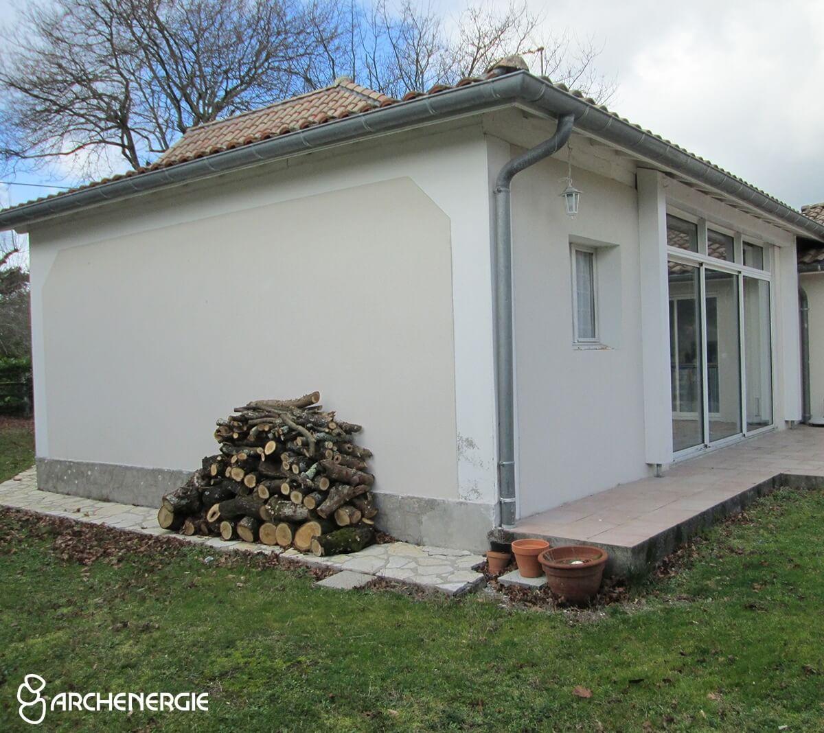 État initial de la maison avant rénovation - Ares - Gironde - Archenergie