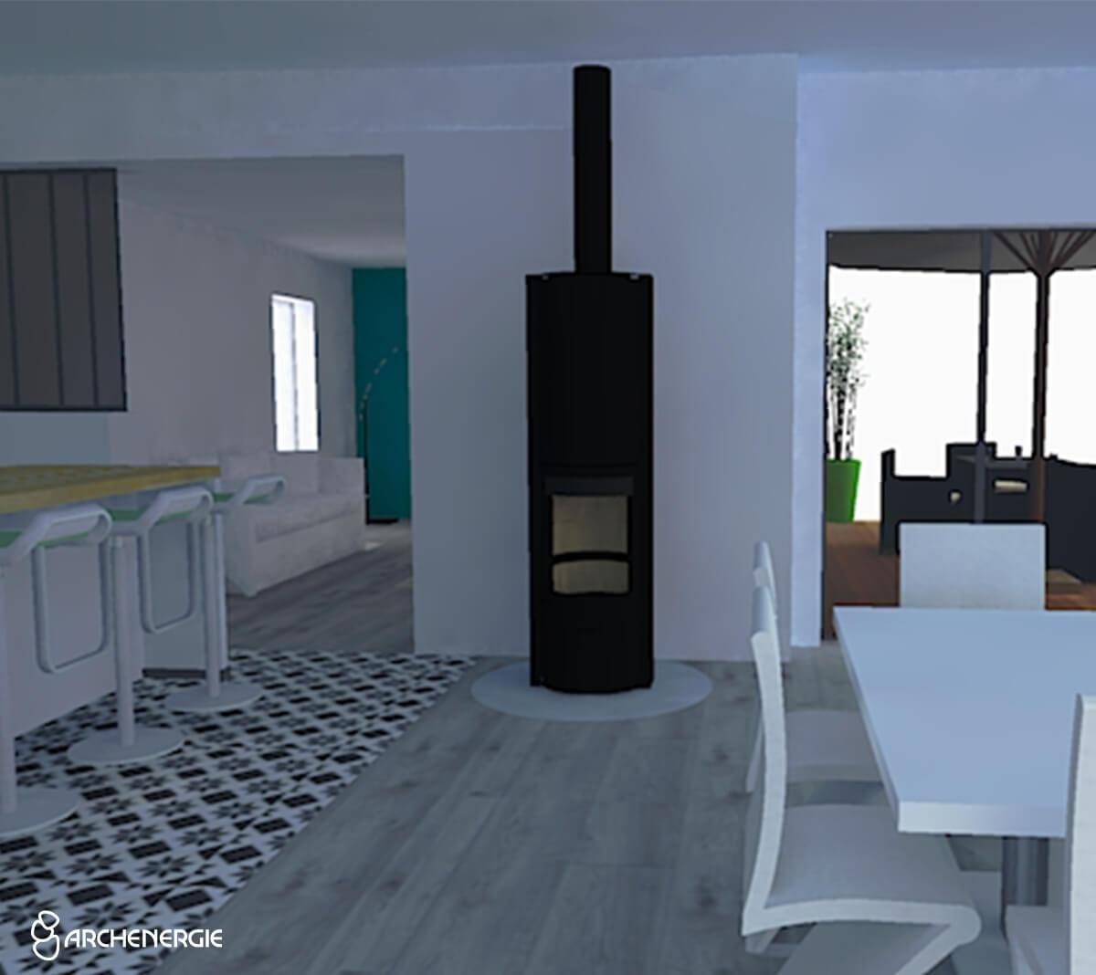 Création de plans 2D et 3D de maison en Gironde - Archenergie