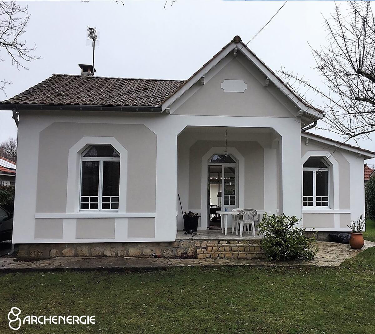 Maison après rénovation - Ares - Gironde - Archenergie