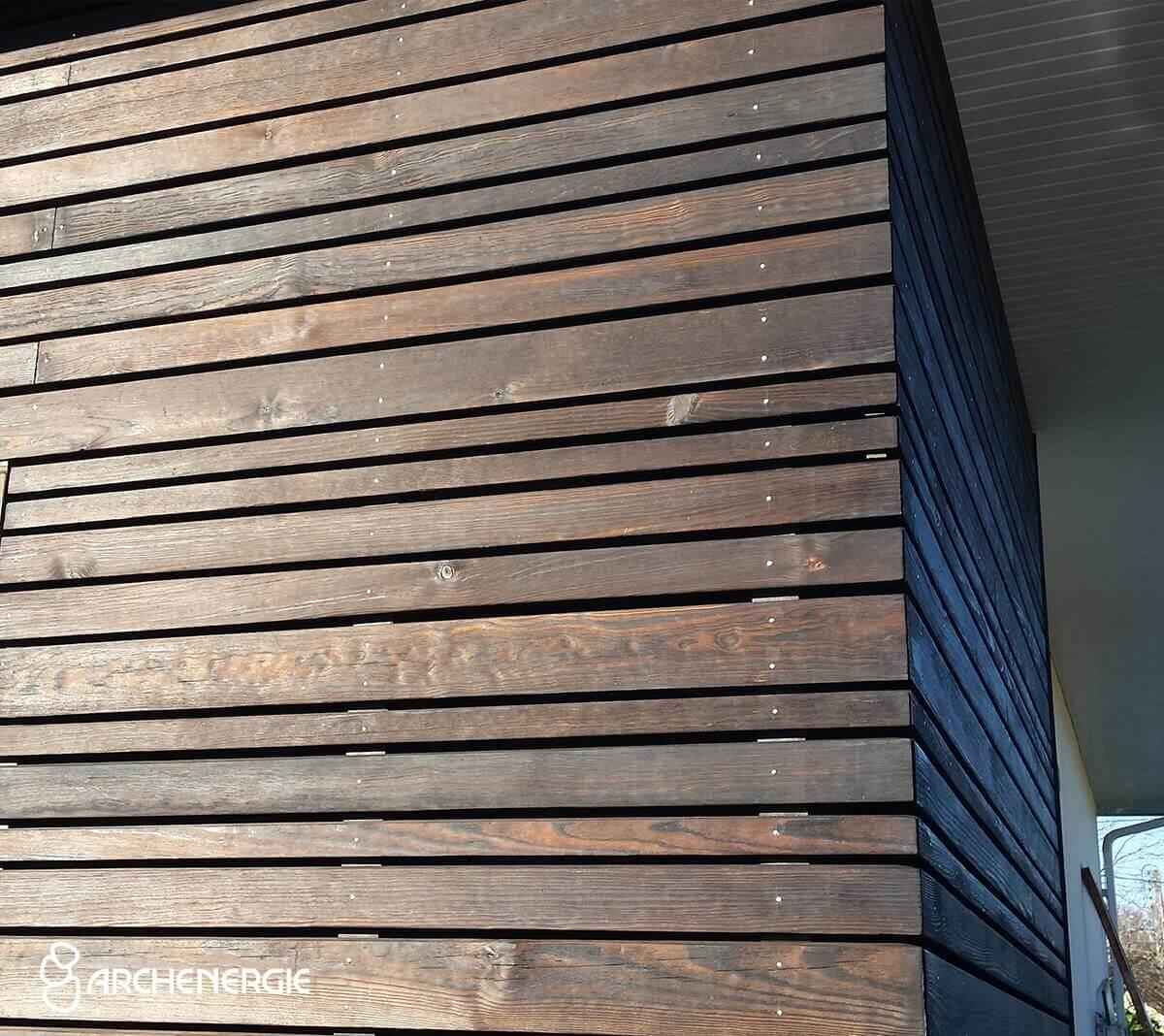 Revêtement extérieur - Enduit - Bardage - Archenergie