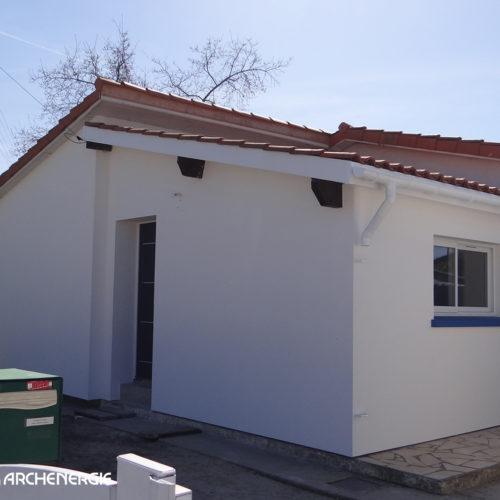 Maison années 60 à Villenave d'Ornon (33) après rénovation thermique