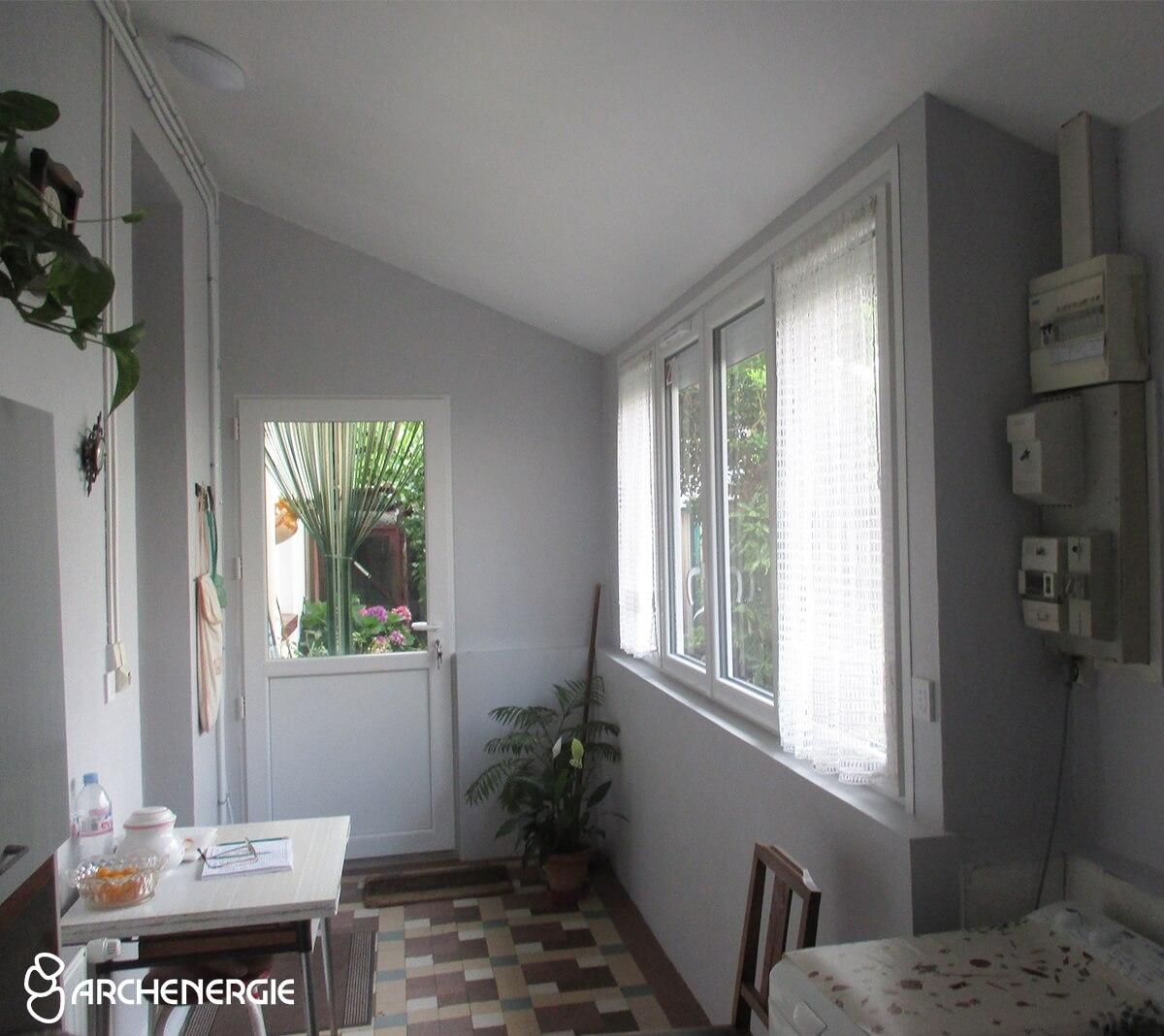Rénovation énergétique d'une maison avec deux logements sur Bègles