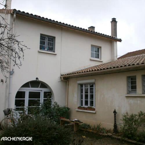 Rénovation d'une maison des années 50 à Bordeaux, Gironde - Archenergie