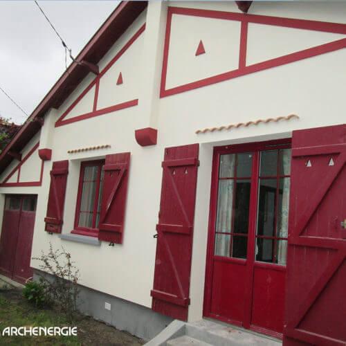 Isolation extérieure à Andernos - après rénovation