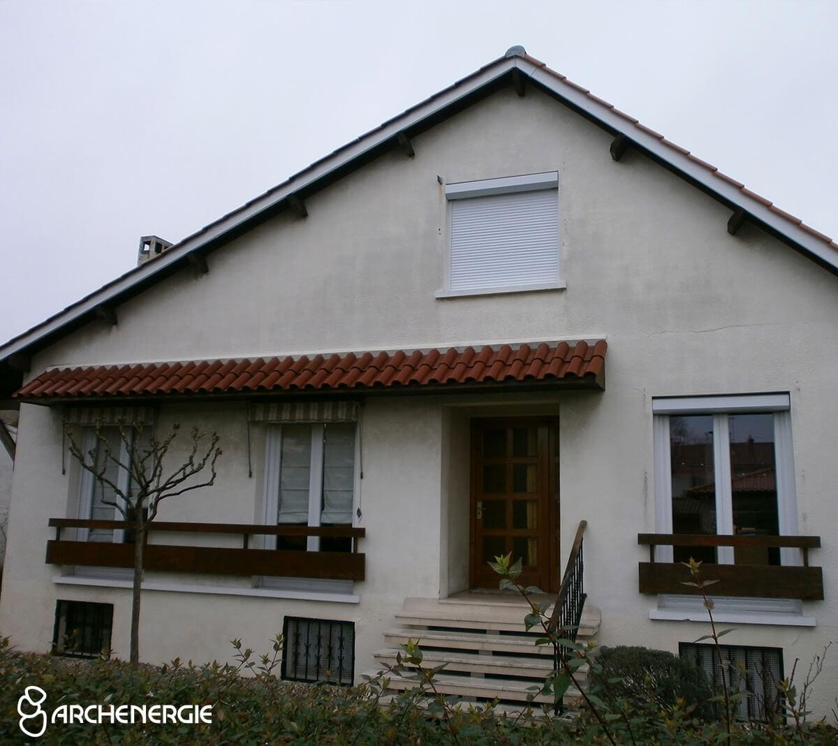 maison bordeaux bastide gironde 33 avant travaux d'isolation thermique par l'extérieur ITE