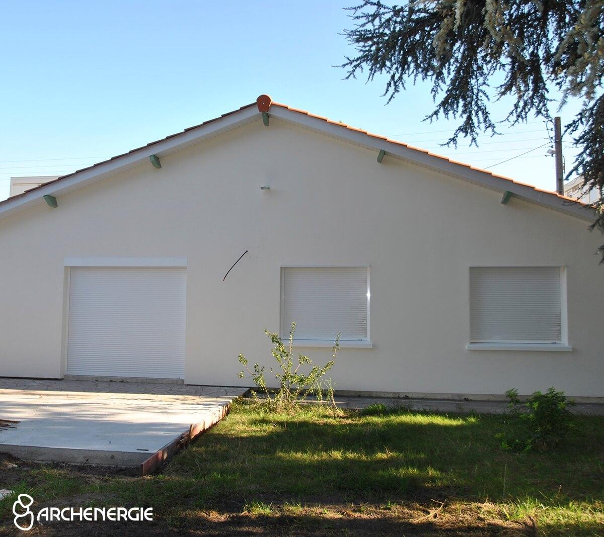maison mérignac gironde 33 après les travaux d'isolation thermique par l'extérieur I.T.E