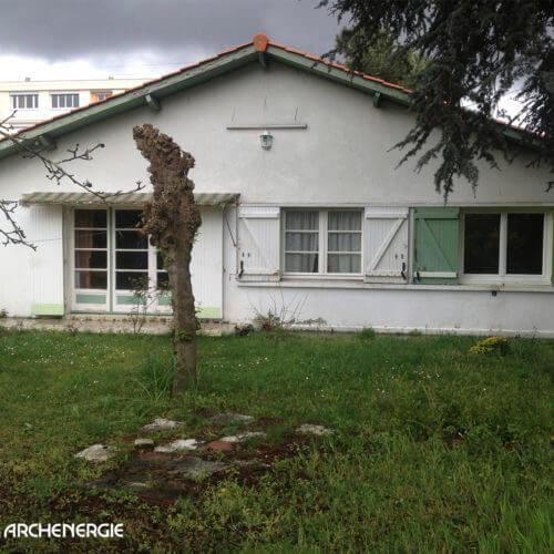 Rénovation thermique d'une maison à Pessac - état initial