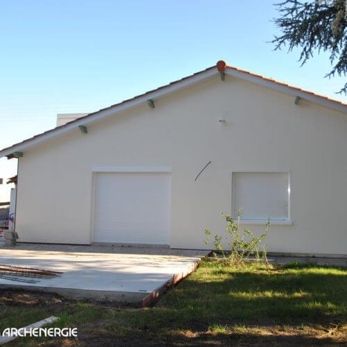 Rénovation thermique d'une maison à Pessac - état final