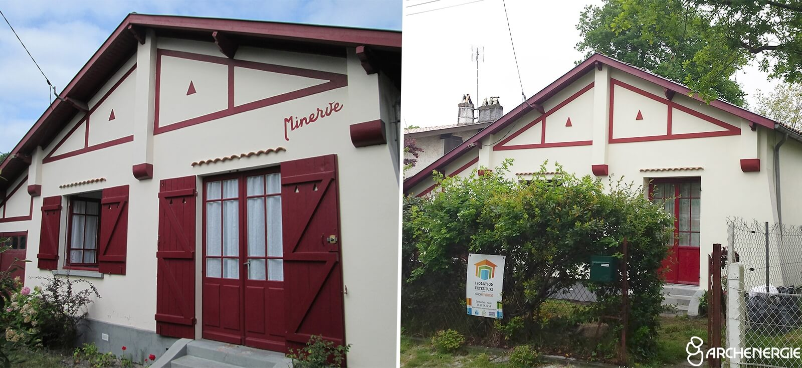maison andernos gironde 33 - travaux d'isolation extérieure